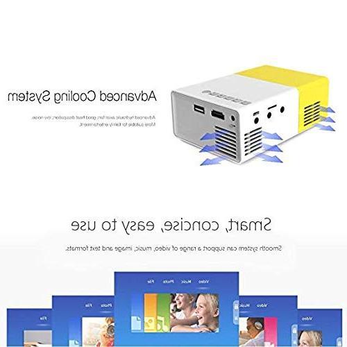 Portable mini micro projector meeting