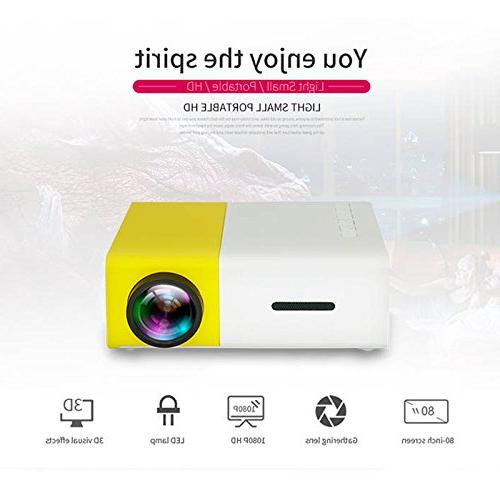 Portable mini projector meeting theater