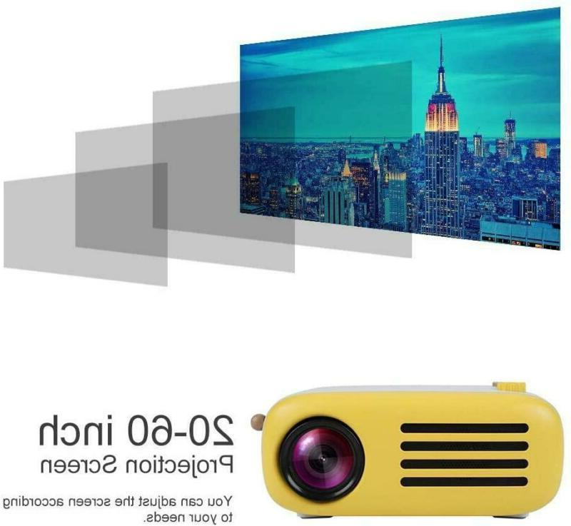 fosa Mini Projector with Home Entertainment