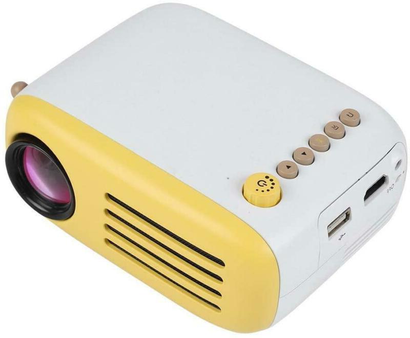 portable mini projector with remote control