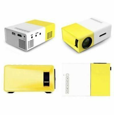 Portable Mini YG300 projectors LED projector 1080 hd In US