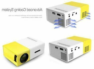 Portable Mini projectors proyector 1080 USA