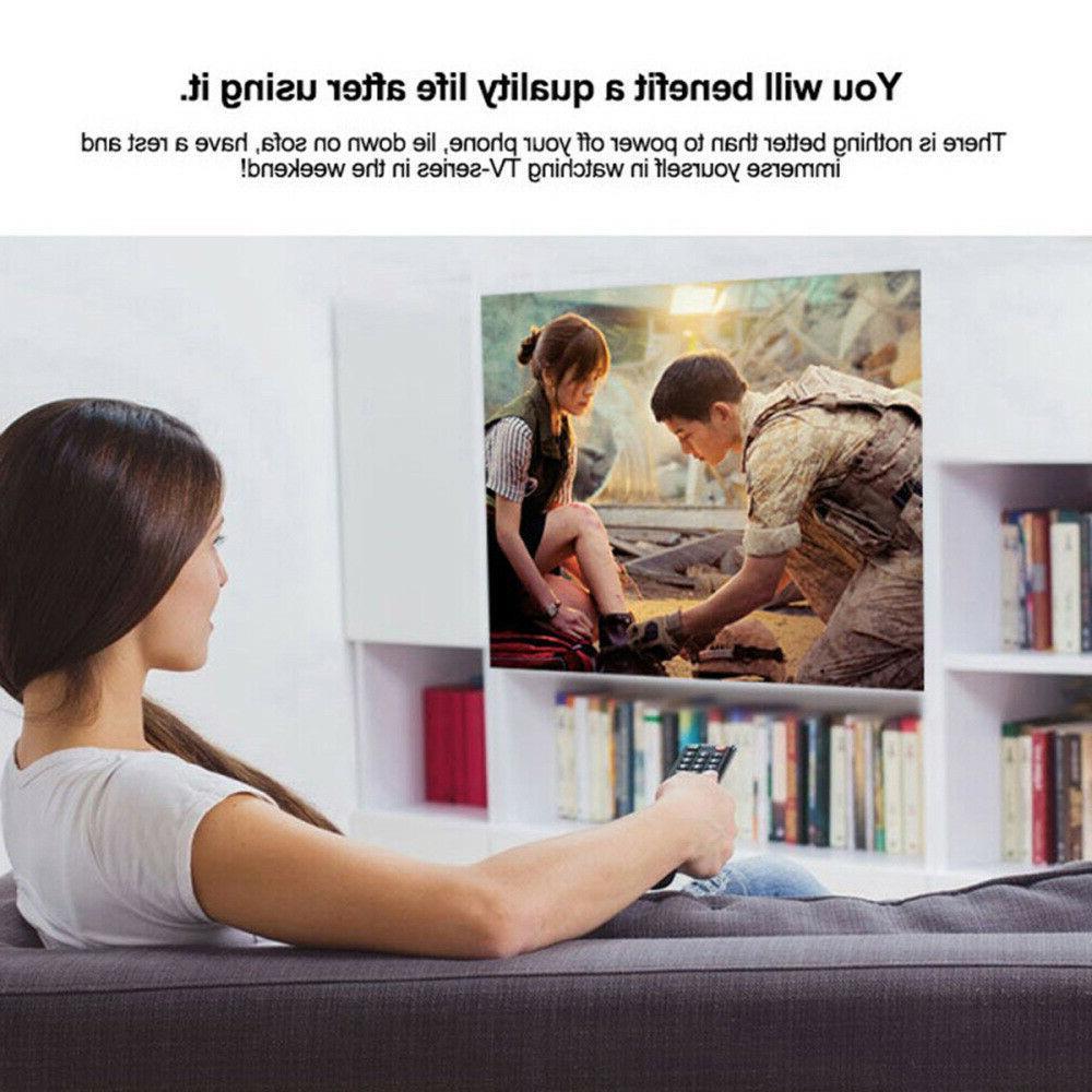 Portable Multimedia Projector 1080P Home Cinema USB US