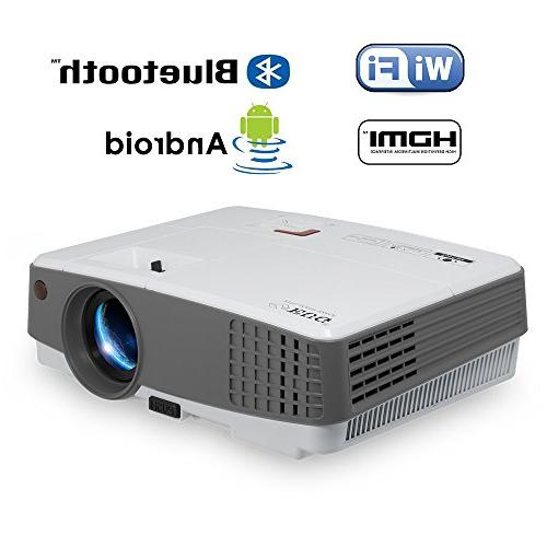 portable projector bluetooth support hdmi