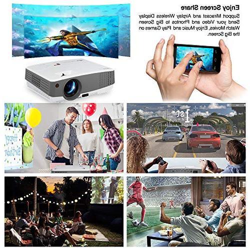 2019 LCD 2600 Home AV 720P 1080P for Outside
