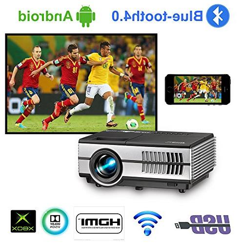 portable wireless smart projector support