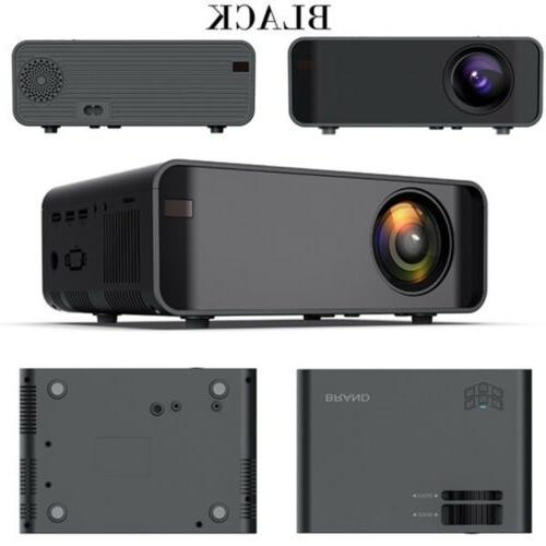 Projector Lumens 1080P 3D LED 4K Mini WiFi Home Cinema