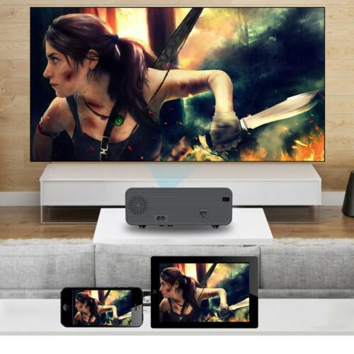 Projector 1080P 3D LED WiFi Video Cinema