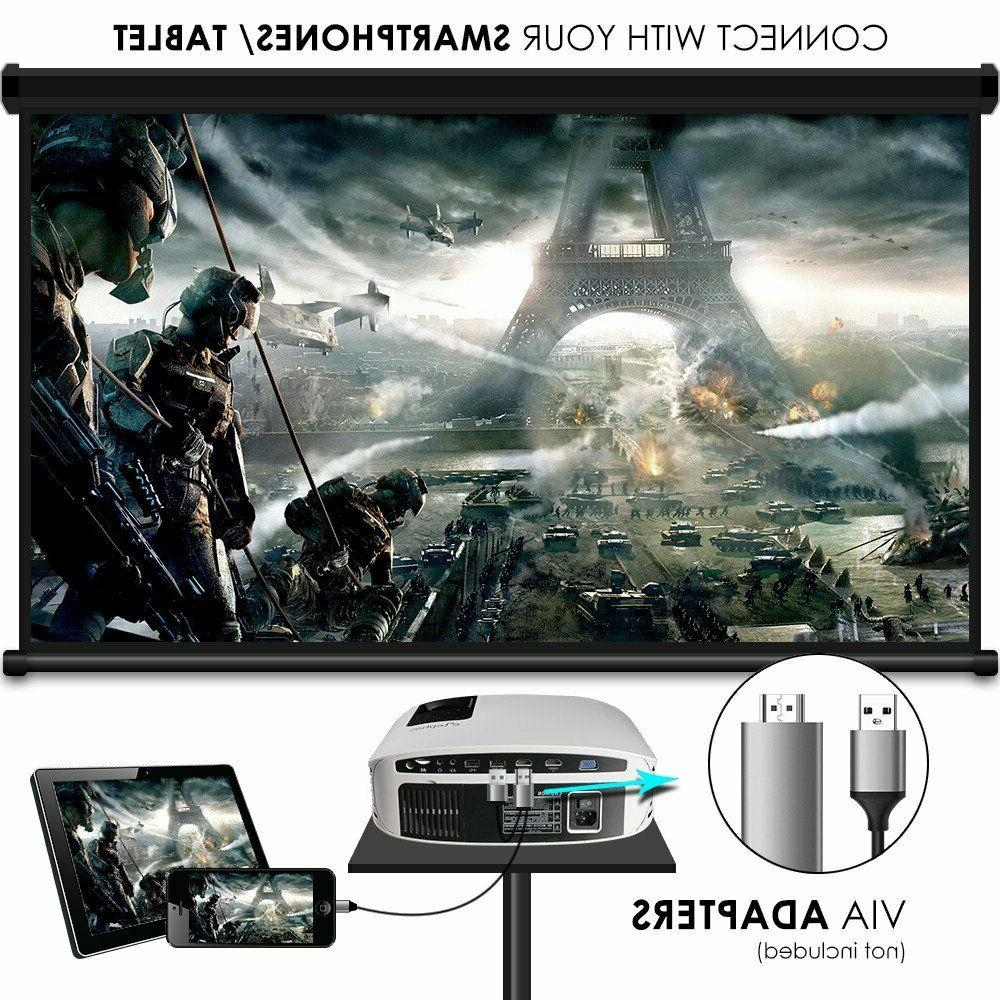 Projector, Led Theater Projector With