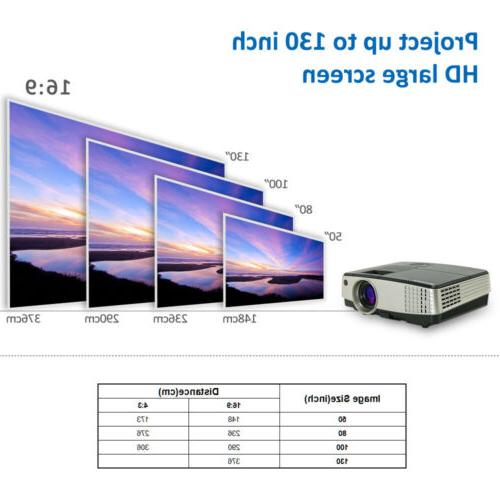 Projector LED WIFI Video Movie