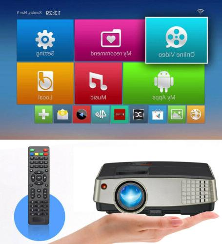 Projector Android WIFI Theater Youtube