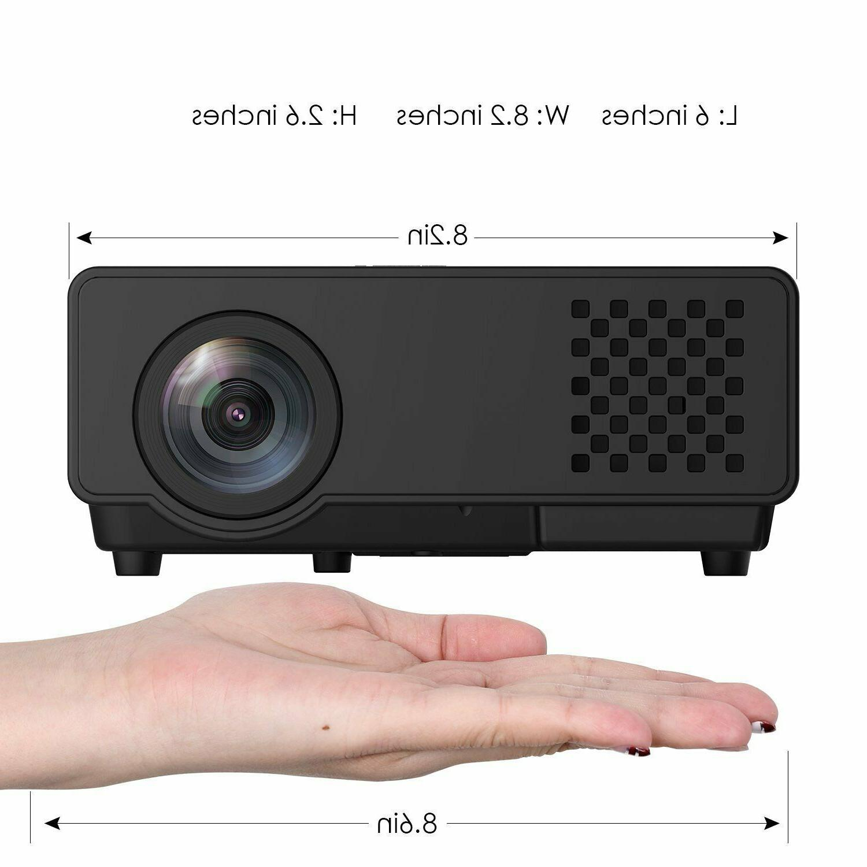 Projector Upgraded Multimedia 1080P