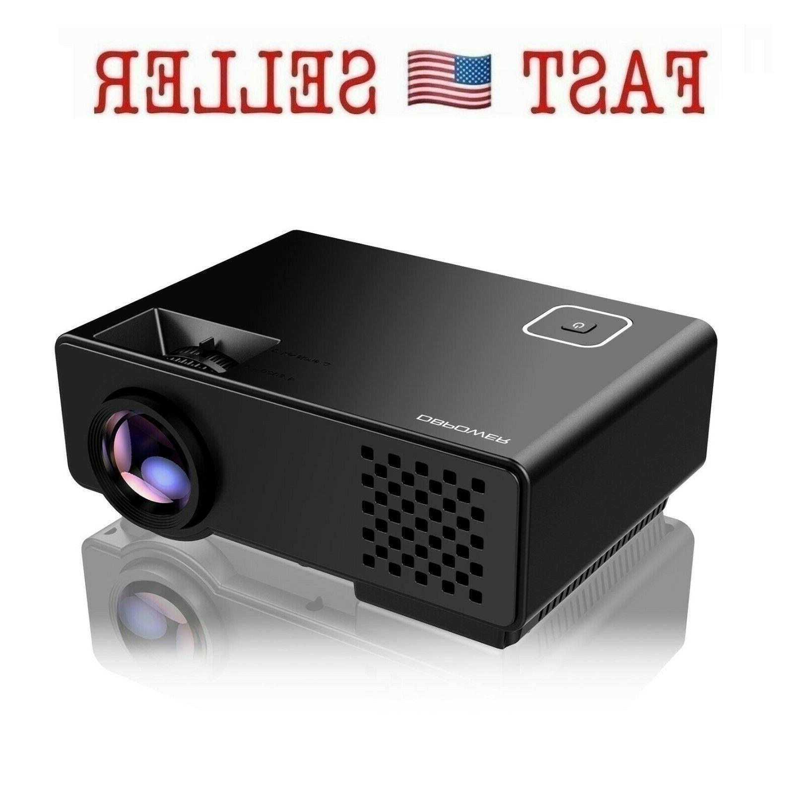 projector upgraded mini multimedia home theater video