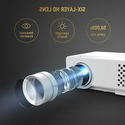 Projector, Upgraded Video Projector, Multimedia Theater