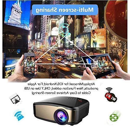 Wireless WiFi DIWUER Full HD Mira-cast Game