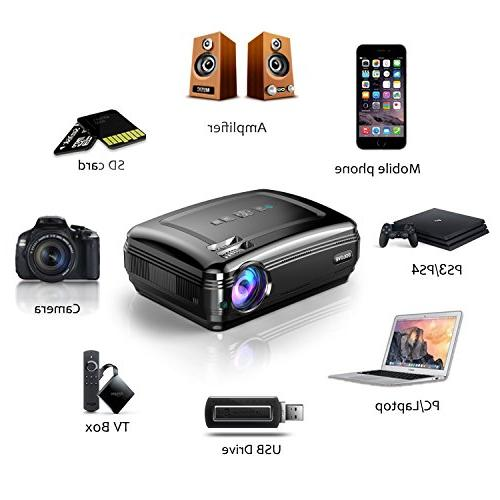 Video SOLOVE HDMI Projector Home Movie PowerPoint for iPhone