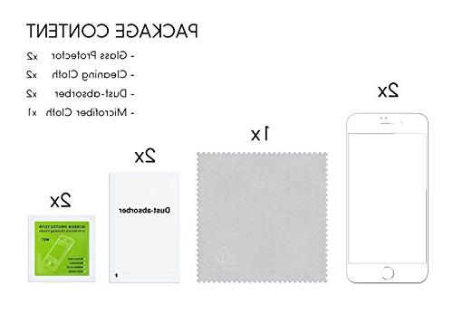 Screen Pack Tempered Glass Protective Film - White