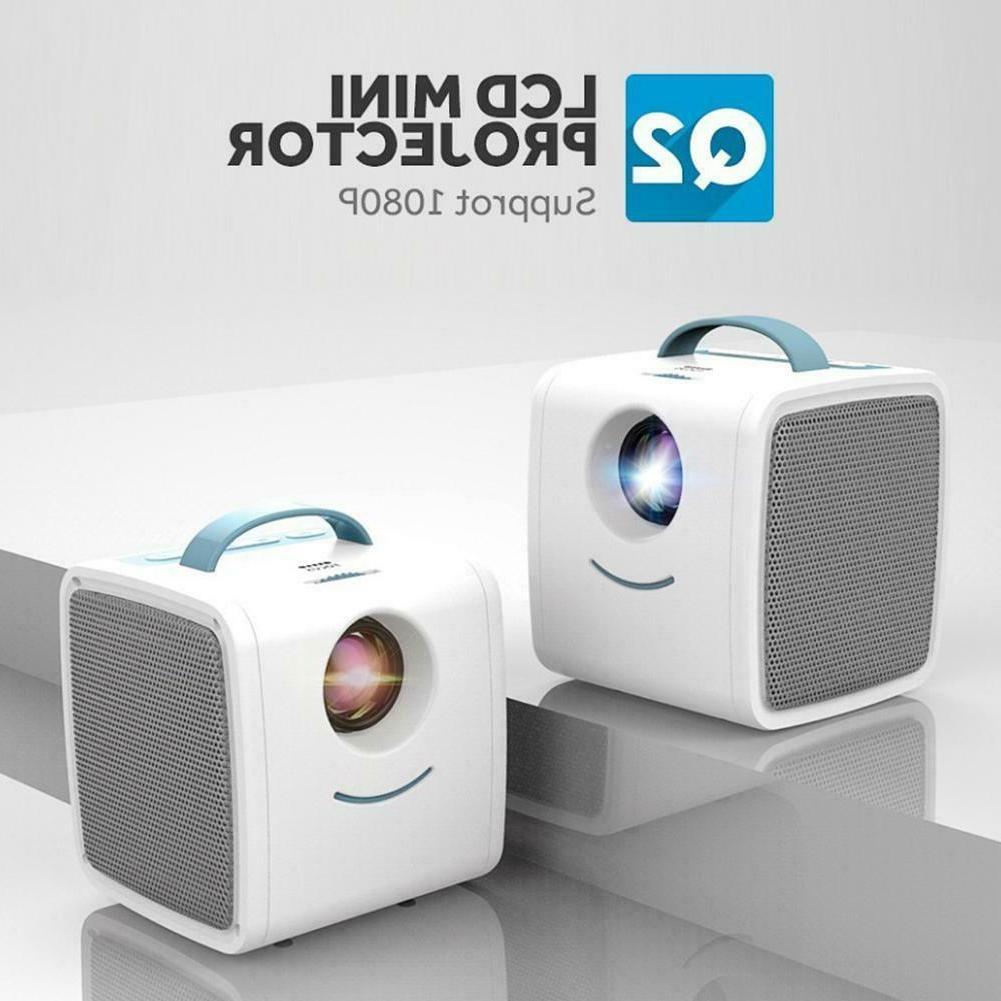 Q2 Mini Portable 1080P Full HD Education #Z