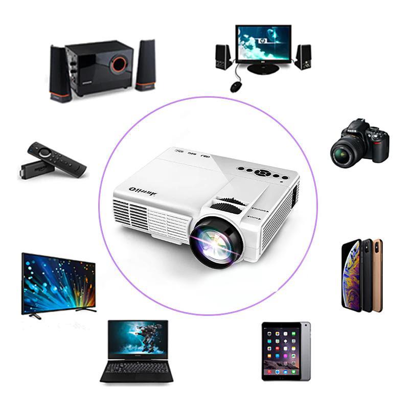 POWERFUL Q5 720P Full-HD 800*600 Wireless with <font><b>Phone</b></font> 4k Home