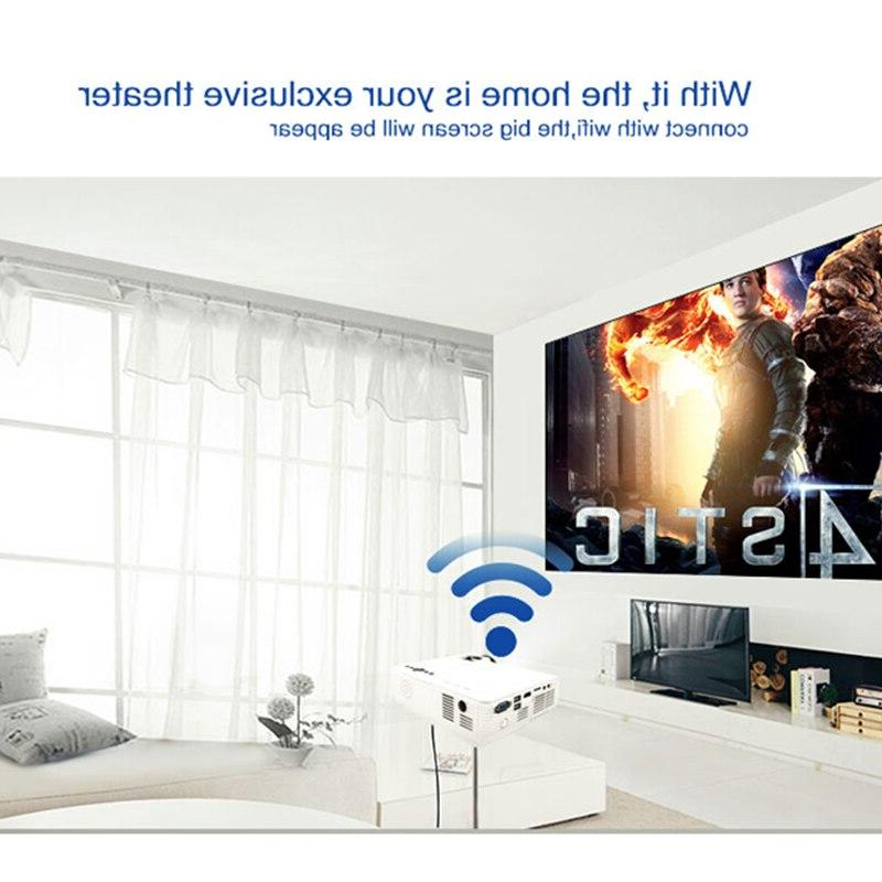 POWERFUL LED 720P 800*600 Wireless Sync with <font><b>Phone</b></font> 4k