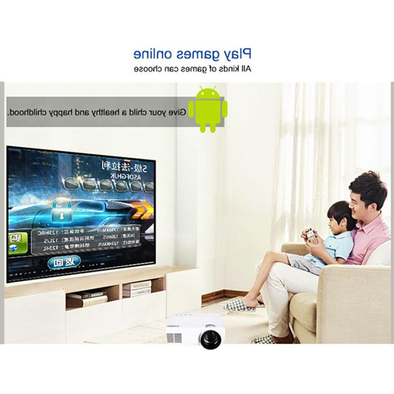POWERFUL Q5 720P Full-HD 800*600 with 4k Theater