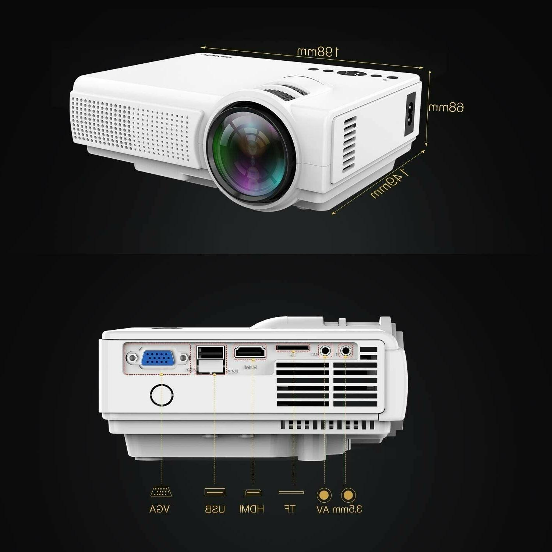 TENKER Q5 Mini Display LED Full HD Video...