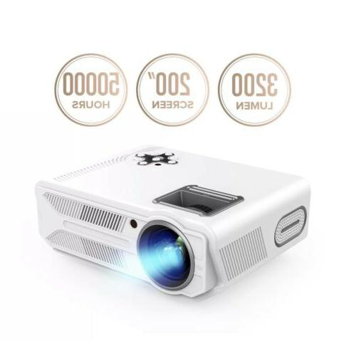 rd 819 projector 3200 lumens lcd video