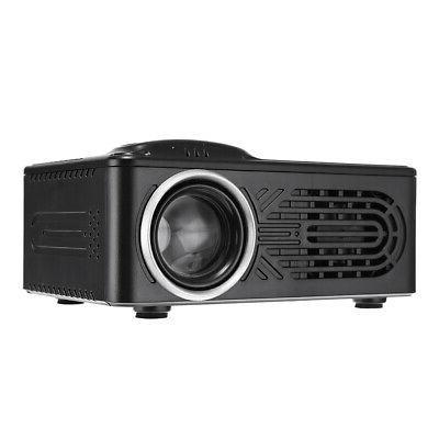 Rigal - 814 LED Mini Projector 30 Lumens LCD TFT Photo Music
