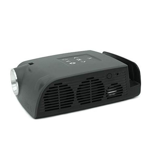 AAXA S1 Switch Hour Battery, USB-C Input, 720p HD Resolution, Lumens, DLP