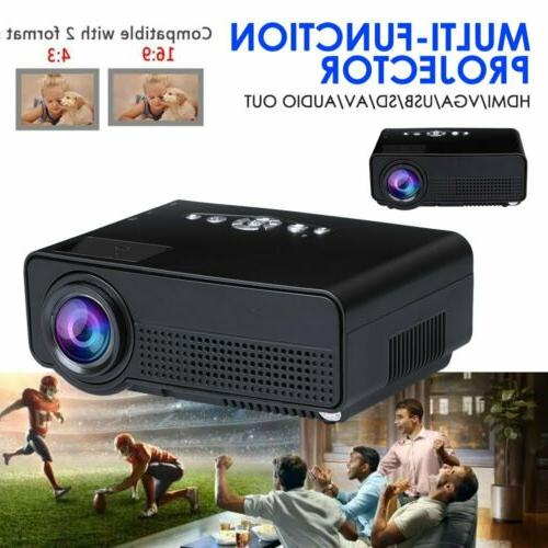 S280 Theater HDMI AV SD Portable LED