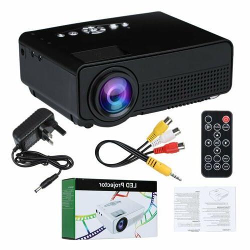 S280 1080P Home Theater AV SD Mini Portable LED Projector USA