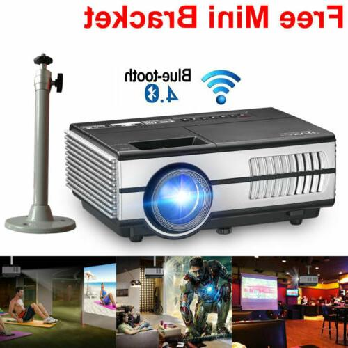smart android mini projector wifi home theater