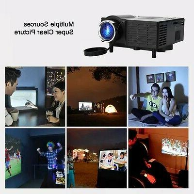 Smart HD VGA/AV/USB/HDMI/SD Theater