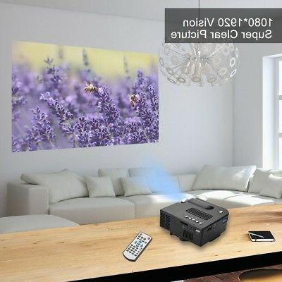 Smart Mini Projector HD Home Theater Multimedia