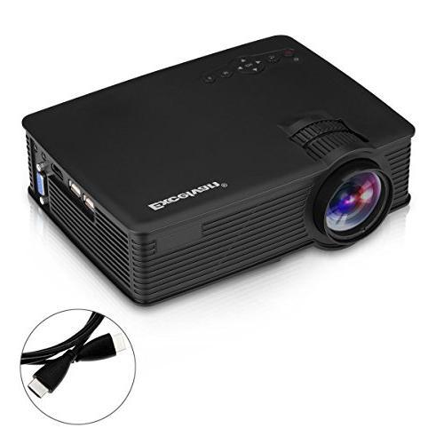 SMARTTECH PROJECTOR, 3D 1080P HD MULTIMEDIA HOME CINEMA USB