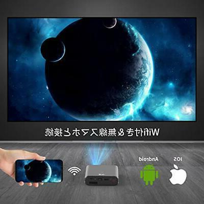 Support the a mini-projector DLP Artlii Mana HDMI