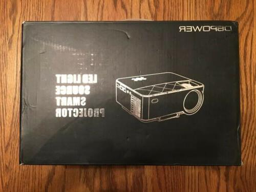 t2 mini projector 1500lm white version