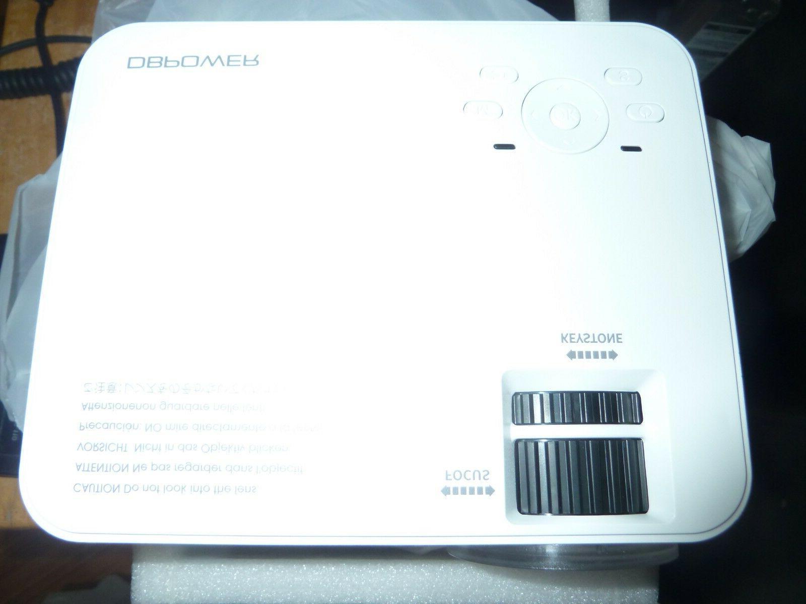 DBPOWER T20 1500 LCD Mini Projector