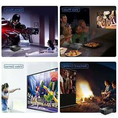 DBPOWER Movie Projector, Multimedia Theater
