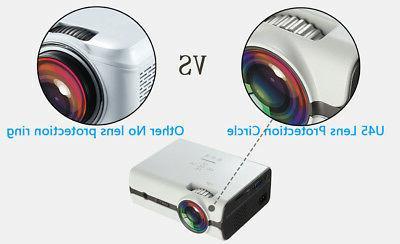 U45 1600 Mini LED USB Home Projector