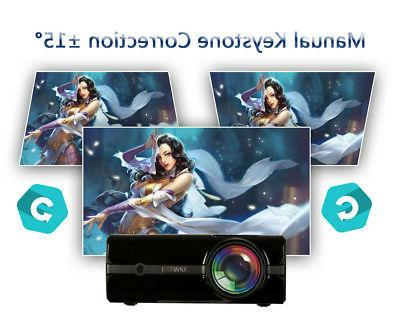 U45 lumens 1080P LED Projector