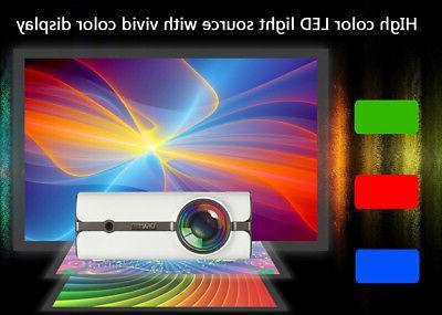 U45 lumens LED USB Projector