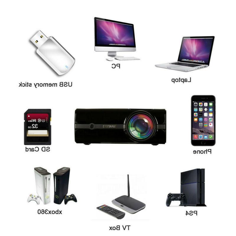 U45 lumens Multimedia Portable Projector Micro Home