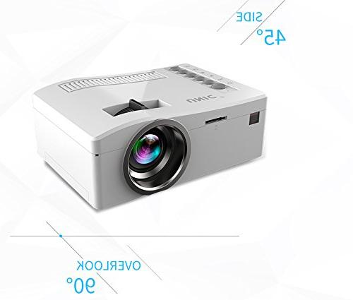 Fosa video 1080P Home Theater Projector Support VGA AV Multi language, Great Nights Video Games