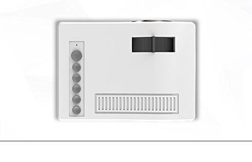 Fosa UC18 Mini video Full 1080P LED Theater Mini Projector TV VGA SD AV Multi Nights Video
