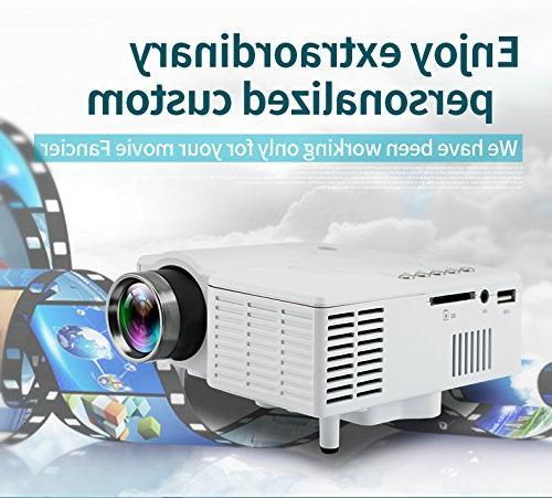 Fosa Projector Cinema Digital LCD Portable Support Projector
