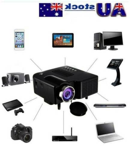uc28 mini portable led lcd projector proyector