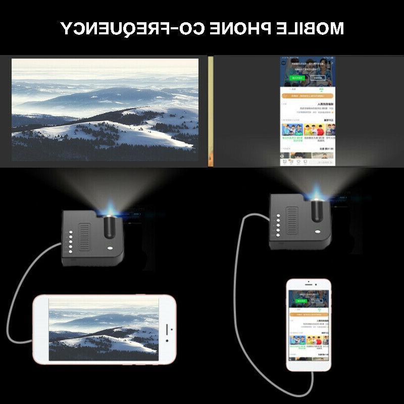 UC28C Mini Projector LED Video Home Theater Cinema