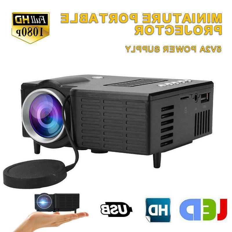 uc28c mini portable projector led micro mobile
