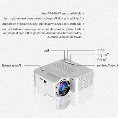 UC28C Projector USB Projector Home Can Connected Dire T4A2